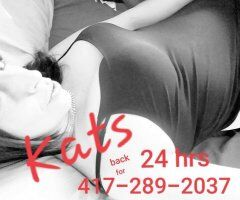 Springfield female escort - $25 off Half Hour Visits ENDS AT 6pm 417 289 2037