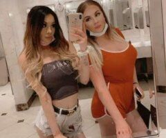 Las Vegas female escort - Busty blonde & exotic island treat ;) dynamic duo