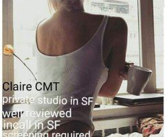 San Francisco body rub - Stunning Independent blonde CMT available for incall/outcall SF