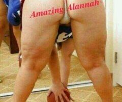 Fort Smith female escort - 💜Amazing Alannah a thick, sweet & juicy treat💦💦 Ready to meet.