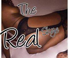 Bridgeport female escort - The Real Skye is here! 🎊 🍫 Ebony goddess 👑