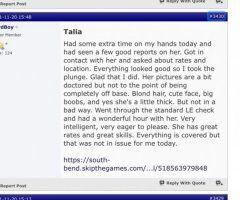 South Bend female escort - Tan, blonde, Talia 🔥😜