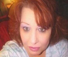 Houston female escort - Hot redhead, Curvy, big breasted 44d text me
