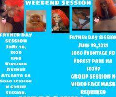 Atlanta TS escort female escort - FATHER DAY WEEKEND SESSION