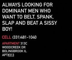 Chicago TS escort female escort - Sissy bottom looking for dominant tops in Bolingbrook