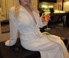 Las Vegas female escort - blonde, bold, busty & beautiful