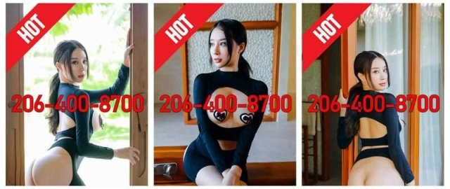 🔥Young Asian Escort Incall🔥Sexy🔥BBBJ🔥69 style❤206-400-8700🔥③ - 2