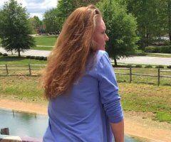 Greensboro female escort - Natural redhead freak